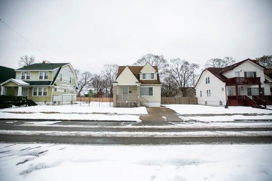 Three rehabbed houses on Santa Rosa.