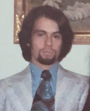 This is a 1971 file photo of Robert Julian Stone.  Stone alleges that the late University of Michigan Athletic Department physician Robert E. Anderson sexually assaulted him during a medical examination in 1971.
