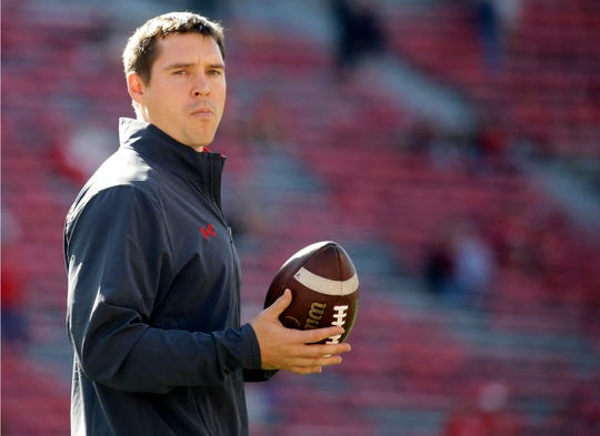 Jim Leonhard, 37, has been on Wisconsin's staff for four seasons, the last three as defensive coordinator.