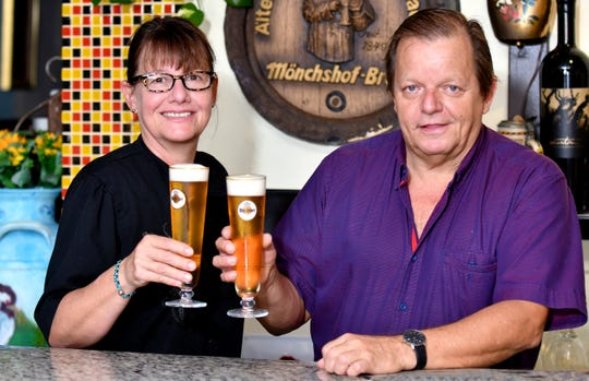 Monika and Klaus Bokelmann are the brother-sister duo behind Black Forest Restaurant in Naples.