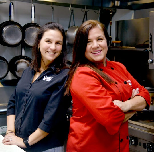 Sisters Claudia, left, and Lore Bolla opened Trattoria Mia in south Fort Myers in 2015.
