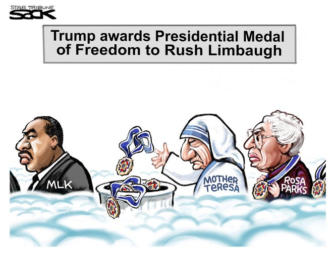 The Medal of Freedom after Limbaugh.
