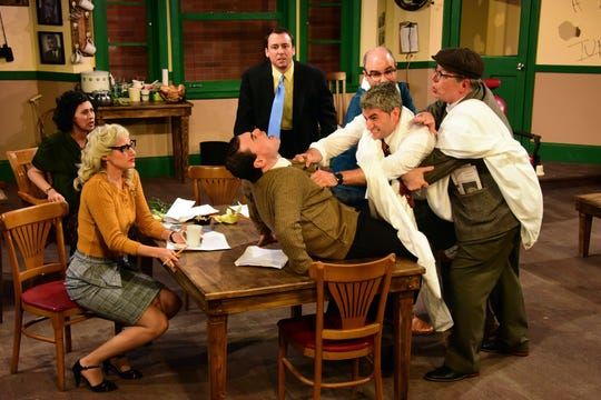"""Laughter on the 23rd Floor"" opens this week at Players Circle Theatre."