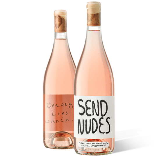 Send Nudes rose from Slo Down Wines