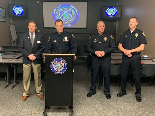 The Great Falls Police Department and Great Falls Public Schools held a press conference on Monday afternoon to provide additional information regarding a threat made at local public schools earlier that morning.
