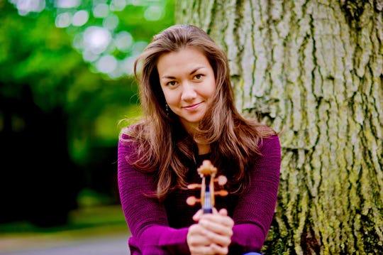 Cornell University professor of violin Ariana Kim.