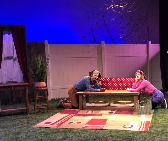 A scene from 'Emmett & Ella: A Doggone Mystery.'