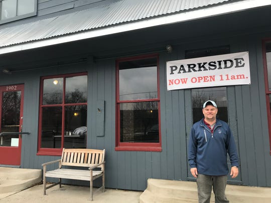 Parkside owner Scott Blankman purchased the building last year, which has previously housed Parkside Seafood and Tom's Parkside Deli. The deli-style restaurant on 1902 Scott St. is now open.