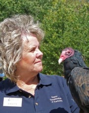 """Raptor Rehab founder Eileen Wicker was remembered as an """"iconic"""" force for good in the animal rescue community in Kentucky."""