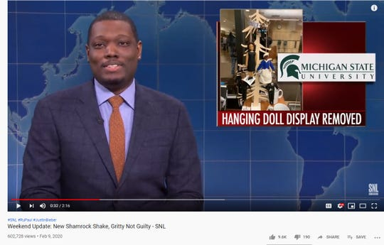 An incident involving ornaments depicting black historical figures found hanging from a rack resembling a tree made the headlines of Weekend Update on Saturday Night Live last weekend.