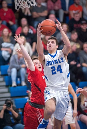 Wynford guard Josh Crall, who averages just under 25 points a game and 8 rebounds a game, was the No. 1 pick in the player draft for the 42nd News Journal All-Star Basketball Classic