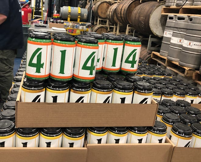 Fred Gillich hopes 414 lager captures the spirit of Milwaukee's beer past. He partnered with Mike Brenner to create the beer and cans that reflect some of the city's diversity.