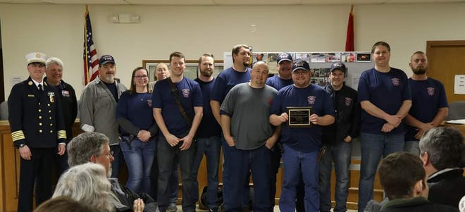 The Gassville Volunteer Fire Department is inviting the public to attend a reception celebrating the city's new ISO Class 2 rating. The event will be held at 2 p.m. on Saturday, Feb. 29 at the Gassville Community Center. Refreshments will be served and firehouse tours will be available. The new ISO rating was a joint effort between the GVFD, the Baxter County Office of Emergency Services and the Gassville Water Department. For questions or more information, call 870-435-6119 or visit the Gassville Fire Department Auxiliary's Facebook page.