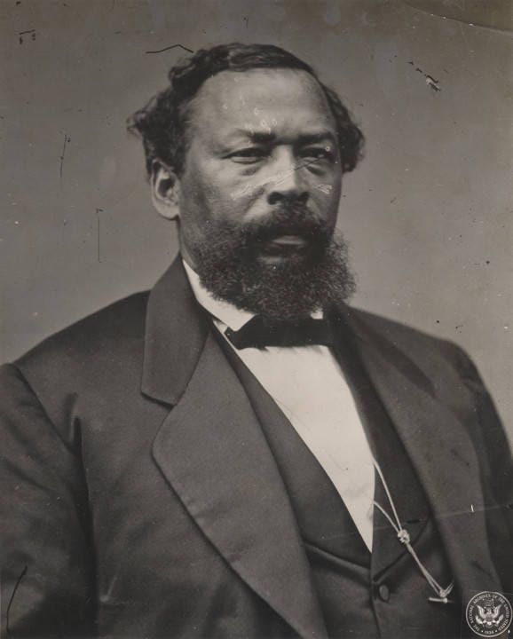 Benjamin S. Turner was an ally of Jeremiah Haralson's and the first African-American elected to Congress from Alabama.