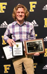 Fairview Jackets Running Back Logan Nardozzi, #22, had 188 carries, 1,778 yards rushing, and 17 touch downs during the 2019 season.  He was selected as Fairview High's Offense MVP; 2019 TSSAA Region 6AAA All Academic Team; 2019 TSSAA 6AAA Offensive Player of the Year; 2019 All Williamson County Running Back; 2019 TFCA 3A All-State Running Back; the Week 10 Gateway Tire Williamson County Player of the Week; and was a 2019 TSSAA 3A Mr. Football Semi-Finalist. Annual Fairview High Football Awards Banquet held on Jan. 10, 2020.