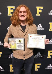 Fairview High Senior, Skyler Wilson - #14, K/P - was awarded MVP-Special Teams-2018 / 2019, All Williamson County Team - 2018, Region 6AAA Most Valuable Kicker-2018 / 2019, TSSAA Region 6AAA All-Academic Team - 2018 / 2019, and 2019 Most Touchbacks Career - 64 at the Annual Fairview High Football Awards Banquet held on Jan. 10, 2020.