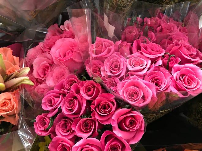 Valentine Day roses: Kroger