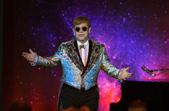 Elton John returns to Orlando in May 2020, where he performed in March 2019 as part of his farewell tour.