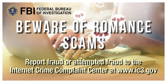 in 2019, romance scams affected 114 people at a loss of $1.6M in New Mexico.