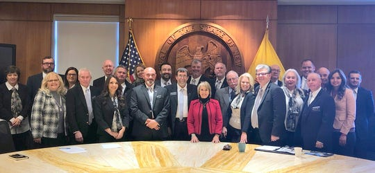 The Deming-Luna County Silver Spikes made their annual visit to Santa Fe during the 2020 Legislative Session. The local group promoted Deming and Luna County during the visit and met with Governor Michelle Lujan Grisham.