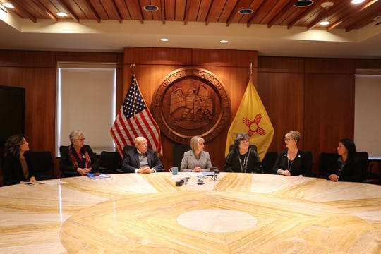 Gov. Michelle Lujan Grisham signed a bill, Monday, Feb. 10, 2020, authorizing $8 million of state funds for use on census outreach efforts.