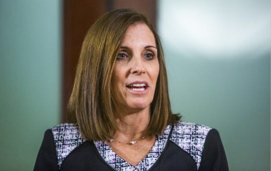 Arizona Sen. Martha McSally's actions suggest she's worried Trump is now impeaching himself (and thus her) with his revenge campaign. Moderate voters, after all, are watching...