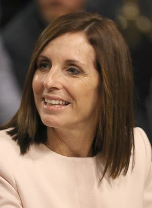 Sen. Martha McSally is one of the Republican senators being target on this Lincoln Project digital ad.