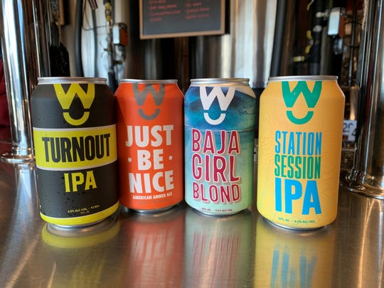 Walter Station Brewery offers four of its beers to-go in cans.