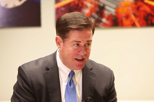 Gov. Doug Ducey explains why sanctuary cities are a bad idea in Arizona with reporters Ronald Hansen and Yvonne Wingett Sanchez.