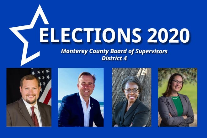 The candidates for the 2020 Monterey County District 4 supervisor race.