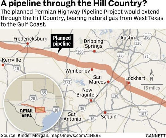 The city of Kyle has joined a federal lawsuit aiming to stop the Permian Highway Pipeline Project.