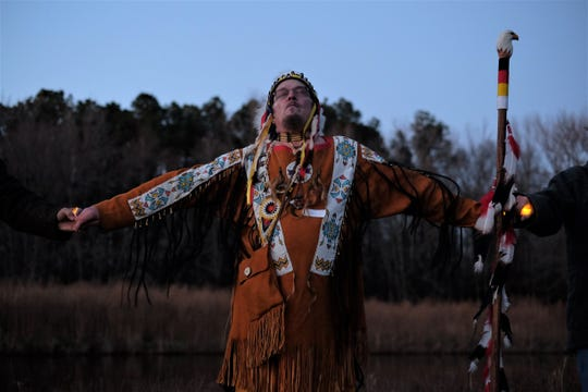 Chief Michael Quiet Bear Morabito doesn't want to see any more of his tribe's history lost to development.