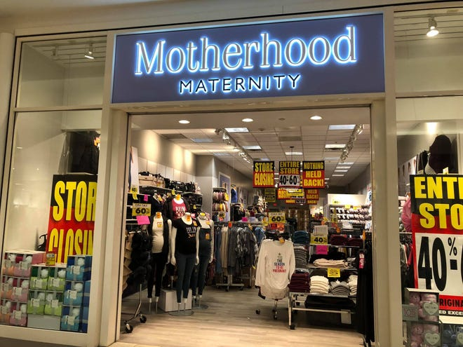 Motherhood Maternity is closing at the Empire Mall.