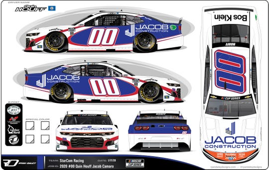 Quin Houff's car for this week's Daytona 500.