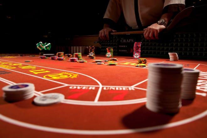 Luxurious nightlife awaits at Eureka Casino Resort.