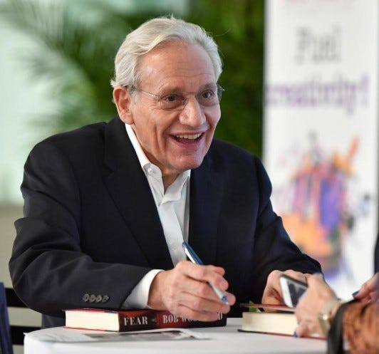 Bob Woodward in Sarasota, Feb. 10, 2020.