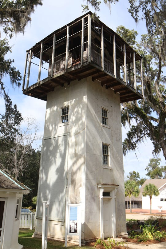 The four-story, 107-year old Goodwood water tower is in disrepair. County commissioners could approve $133,000 in match funding for renovations the museum hopes will attract more visitors and expand the opportunity to tell more about the site, museum officials wrote in their application.