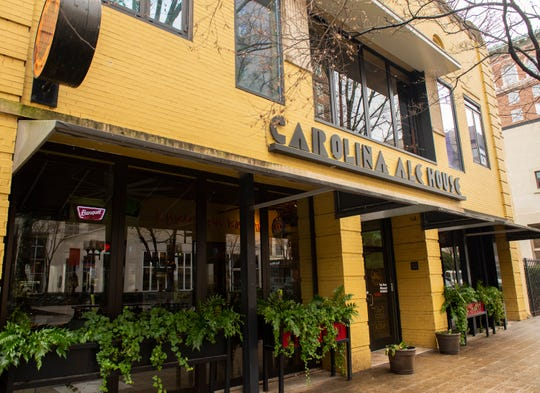 Carolina Ale House in downtown Greenville