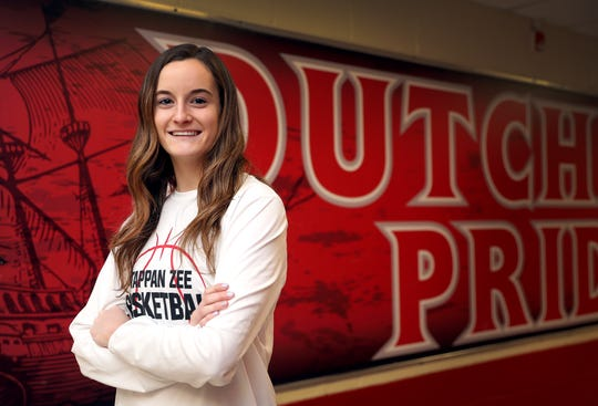 Tappan Zee's Kaleigh Beirne, who is Rockland Scholar-Athlete was photographed at the high school in Orangeburg Feb. 10, 2020.