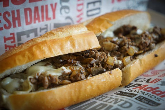 Capriotti's is introducing the new Impossible cheesesteak to their menu at the Newark Shopping Center starting Tuesday. The cheesesteak is a plant-based protein, served with white American cheese, mushrooms, onions and hot or sweet peppers. The steak is grilled right alongside the traditional meat-based sub.