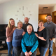 Bob and Susan Manzke are surrounded by their children during the 2019 Thanksgiving holiday, from left, Rachel, Russell, Rebecca and Rob.
