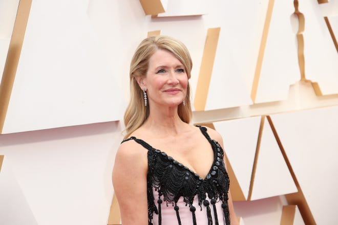 Laura Dern arrives at the 92nd Academy Awards.