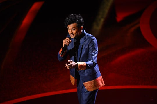 Lesser-known rapper and actor Utkarsh Ambudkar got a big stage in the middle of the Oscars.