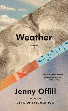 """""""Weather,"""" by Jenny Offill"""