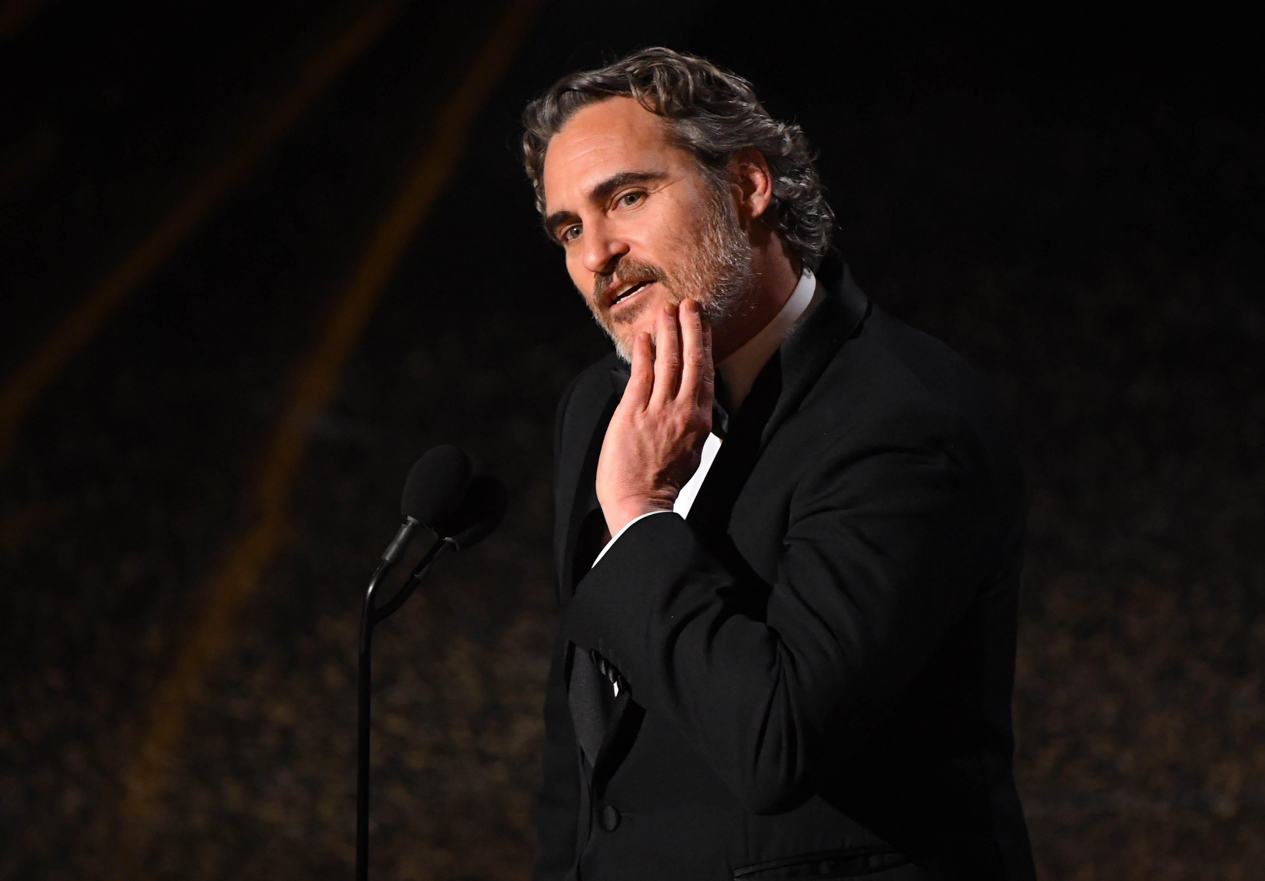 Oscars 2020: Farmers respond to Joaquin Phoenix s anti-dairy best-actor acceptance speech