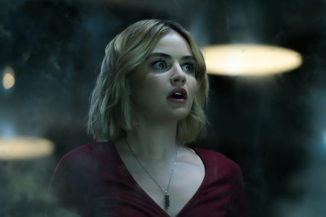 """Lucy Hale stars as a terrorized visitor to """"Blumhouse's Fantasy Island."""""""
