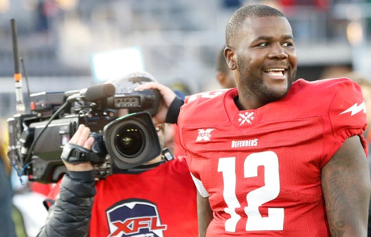 Former Ohio State QB Cardale Jones and the DC Defenders won the new XFL's inaugural game Saturday.