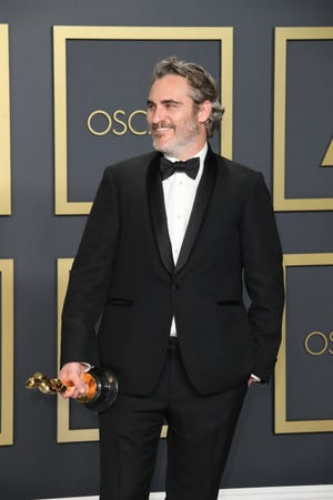 "Joaquin Phoenix was named best actor for his work in ""Joker."""