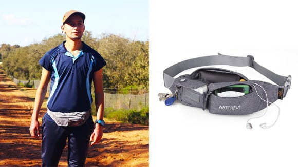 Keep your essentials right at your side with the Waterfly Fanny Pack.