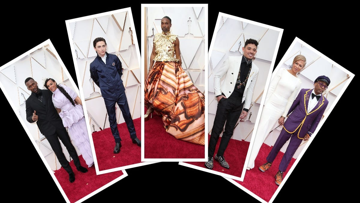 Oscars Men S Fashion The Best From Billy Porter To Timothee Chalamet